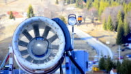 Snow maker propeller video