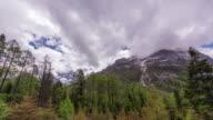 Snow Mountain Time Lapse video