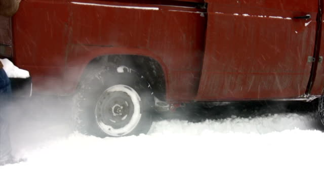 Snow Old Vehicle video