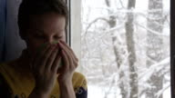 Snow Outside the Window video