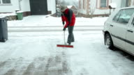 Snow removing video