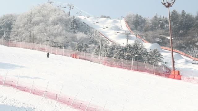Snow ski resort video