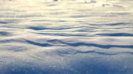 HD DOLLY: Snow Sparkling In The Morning video