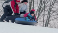 Snow Tubing video