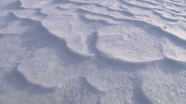 Snow waves video