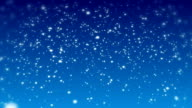 Snow winter background video