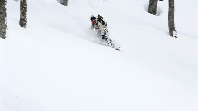 Snowboarding Powder in Japan 1 video