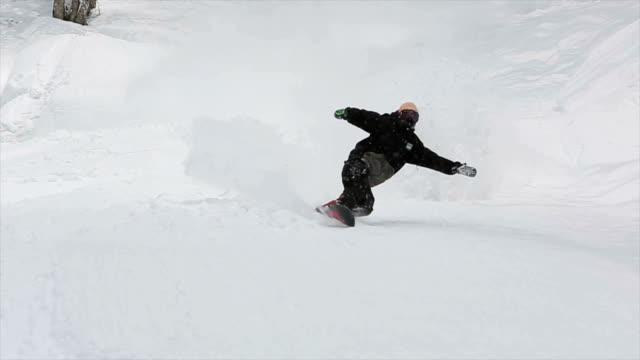 Snowboarding Powder in Japan 2 video