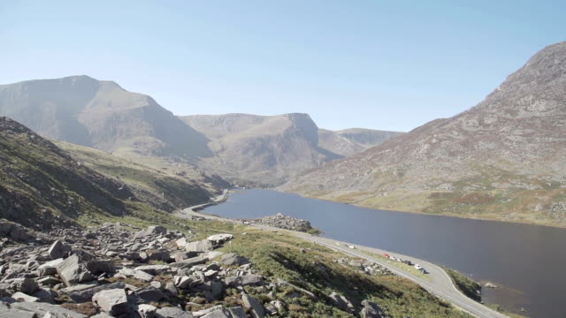 Snowdonia Mountains Tryfan and Ogwen Valley Wales video