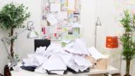 Snowed under with paperwork video