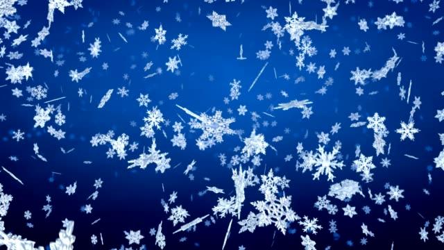 Snowflakes Falling video