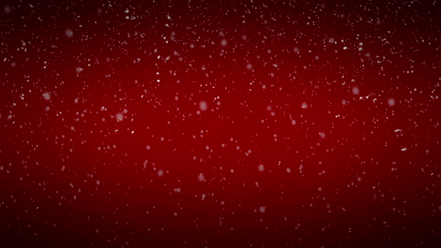 Snowflakes in Front of a Background with Vignette  (seamless loopable) video