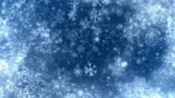 snowFlakesBackground 05 video
