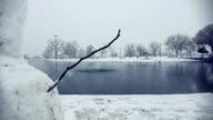 Snowman in Winter Park video