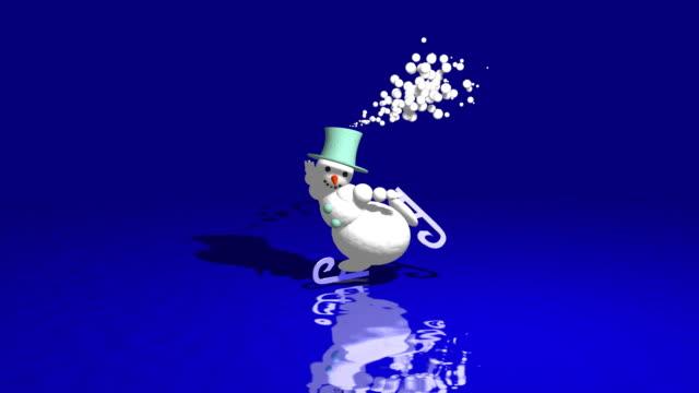 snowman skates video
