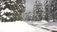 Snowmobile Road video