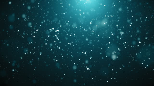 4K Snowy Background | Loopable video