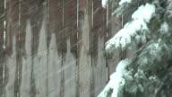 Snowy Background (HD) video