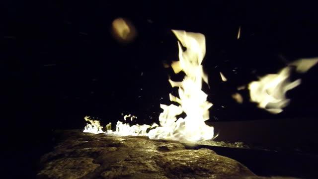 Snowy Fire Pit video