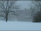 Snowy Hills Pan Left video