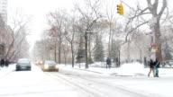 Snowy Manhattan video