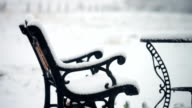 Snowy Patio video