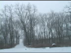 Snowy Road 1 video