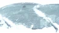 Snowy Windshield Wipers video