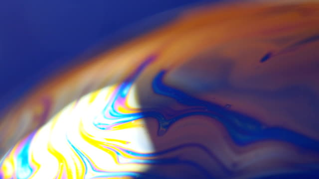 Soap bubble close-up video