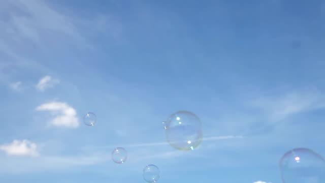 Soap bubbles video