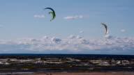 Soaring Kiteboardings video