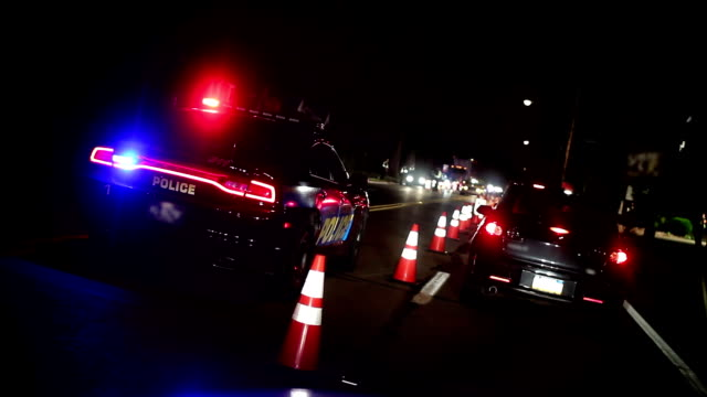 DUI Sobriety Checkpoint video