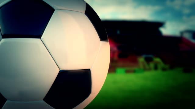 Soccer Ball in the Stadium video