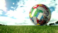 Soccer Ball Turn - Loopable video