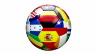 Soccer Ball (Loopable) video