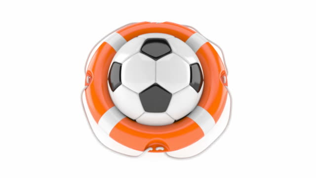 Soccer ball with life buoy video