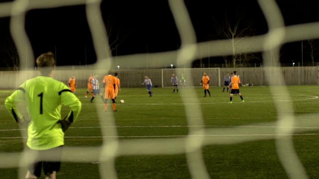 Soccer / Football match - Kicking off video