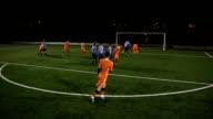 HD: Soccer Goal Freeckick (Football) video