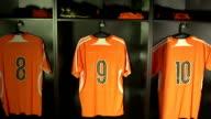 Soccer or Football Locker / Changing Room, CRANE (Sports Uniform) video