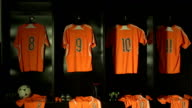Soccer or Football Locker / Changing Room, DOLLY (Sports Kit) video