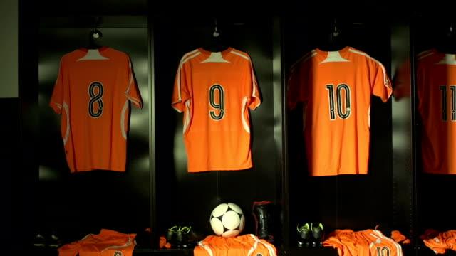 Soccer or Football Locker / Changing Room (Sports Kit) video