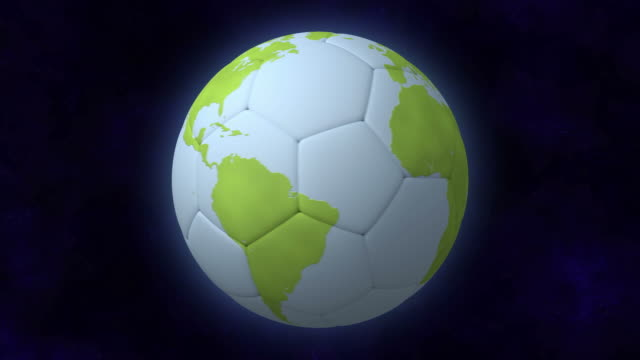 Soccer Planet Loopable video