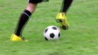 Soccer Player Dribbling 02 video