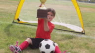 Soccer Trophy video