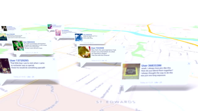 social map video