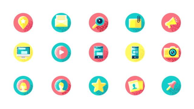 Social Media Icons video