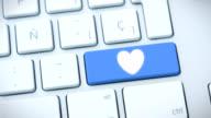 Social Media keyboard video