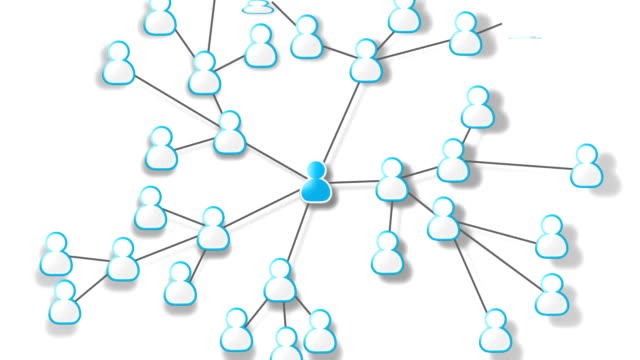 Social network growth video