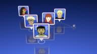 Social Network of Avatars video