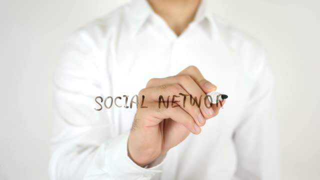 Social Network, Written on Glass video